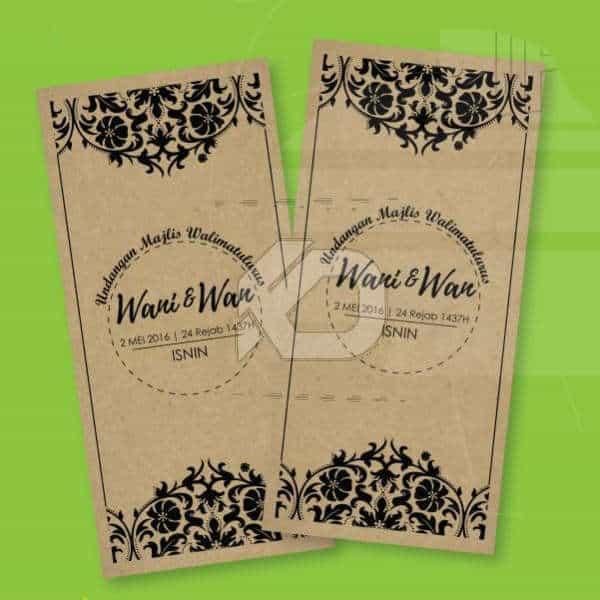 Kraf 01 – Pakej Kad Kahwin