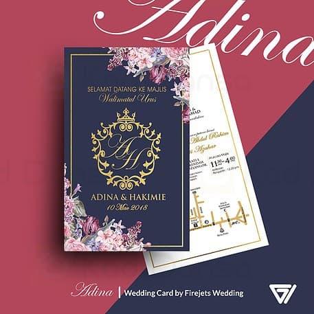 Adina Pakej Kad Kahwin FJW