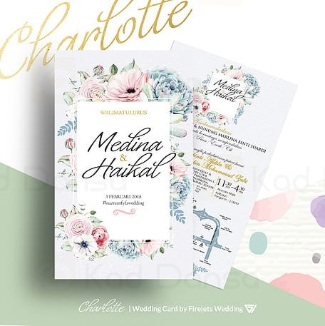 Charlotte Pakej Kad Kahwin FJW