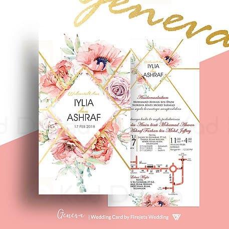 Geneva Pakej Kad Kahwin FJW