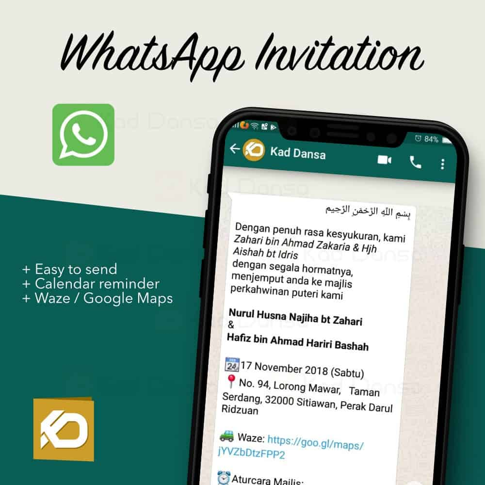 WhatsApp Invitation