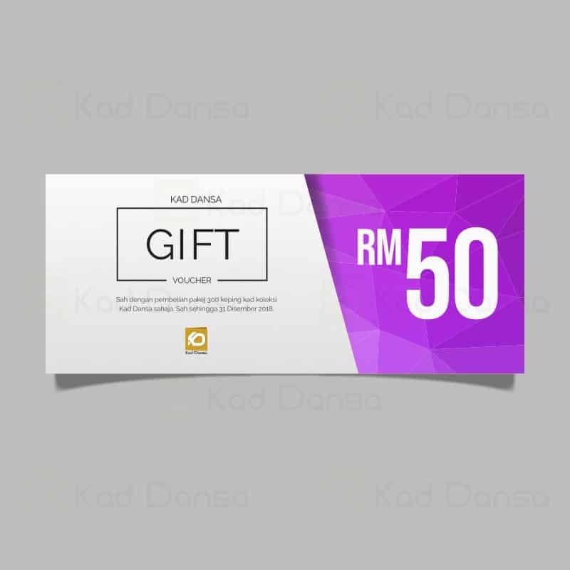 RM50 Gift Voucher